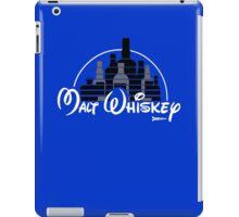 Malt Whiskey not Walt Disney iPad Case/Skin