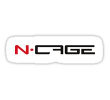 N - CAGE Sticker