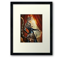 The Hermitage cats' Mistress Framed Print