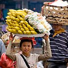 To Market - Bali, Indonesia by Stephen Permezel
