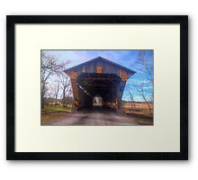 Chambers Road Bridge - Ohio Framed Print
