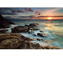 Fantail Bay Sunset Blast Photographic Print