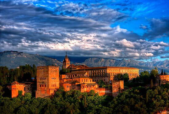 Alhambra HDR by anthonyguinness