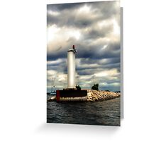 Leaving the Bay Greeting Card