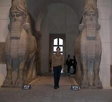 Gates of Babylon, Louvre, Paris by chord0