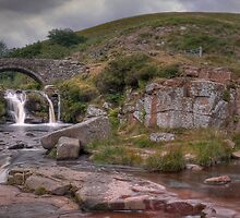 Three Shire Heads - The Peak District by Steven  Lee