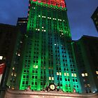Holiday Colors, Helmsley Building, New York City by lenspiro