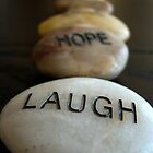 Laugh Hope Dream by Caroline Fournier