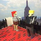 Lego New York City Observation Deck, Lego Rockefeller Center Store, Rockefeller Center, New York City by lenspiro
