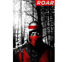 Roar Injustice Photographic Print