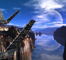 Delta Wing's Last Flight  by AlienVisitor