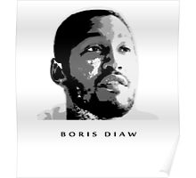 BORIS DIAW -NEW- STENCIL DESIGN Poster
