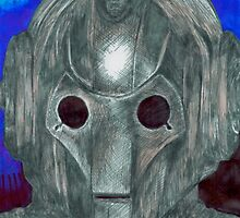 Cyberman Sketch by catherinehna