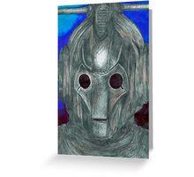 Cyberman Sketch Greeting Card
