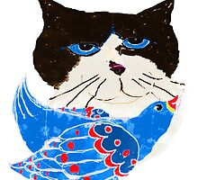 The Bird Cat by Ginny Luttrell