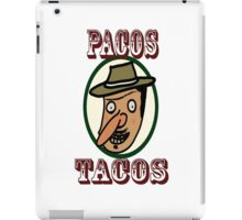 Pacos Tacos iPad Case/Skin