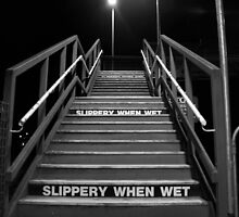 Slippery when wet by Bernadette Maurer