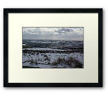 Rosedale in Winter Framed Print