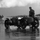 Vintage sportscar at Colerne airfield by Twscats