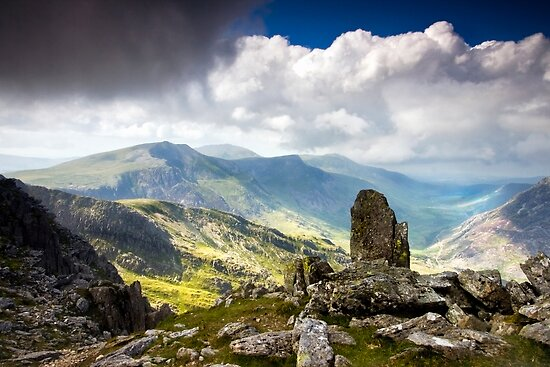 A view from Tryfan by igotmeacanon
