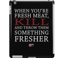House of Cards - Fresh Meat iPad Case/Skin