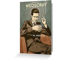 Wilosophy Poster Greeting Card