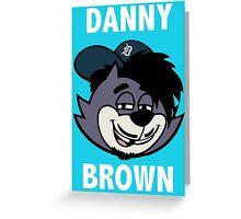 "Danny Brown ""Pitchfork Frame's Cat""  Greeting Card"