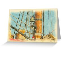 Bounty II - Ship's Bell Greeting Card