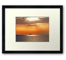 Shine Framed Print