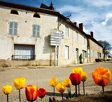 Charroux village by Kevin Hayden