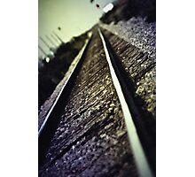 Across the Tracks Photographic Print