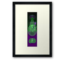 This is (not) a hoverboard Framed Print