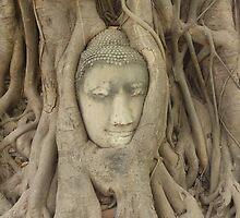 Ayutthaya Face by SamElliott