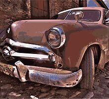 Vintage Car by Grobie