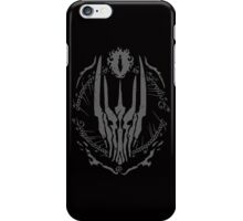 One Ring (Grey) iPhone Case/Skin