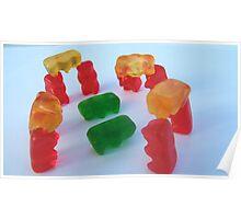 Gummy Stonehenge Poster