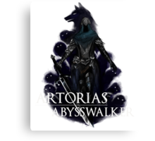 Artorias The Abysswalker Canvas Print