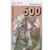 500 Old Swiss Francs Note - Back by Nornberg77
