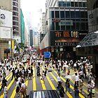 Hong Kong Bustle by dannitiller