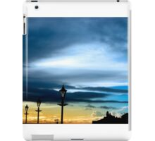 row of vintage lamps and lighthouse iPad Case/Skin