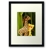 Goldie Belle's Friend (1) Framed Print