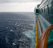 Cruise Ship Perspective 4 by David Chappell