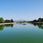 Las Vegas - Sunset Park Lake by Will Edwards