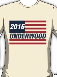 Francis Underwood For US President 2016 T-Shirt