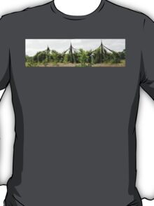 The Willow Cathedrial at French Weir Park Taunton. T-Shirt