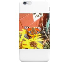 Sunflower Butterfly iPhone Case/Skin