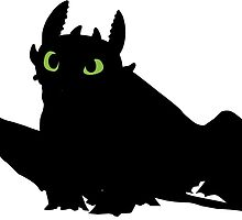 toothless (larger). by Suicun3