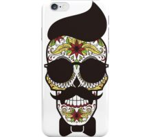Skully Moustache iPhone Case/Skin