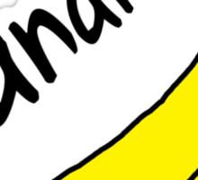 Bananana Sticker