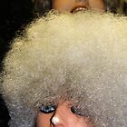 White Afro by debidabble